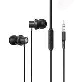 Lenovo Thinkplus TW13 przewodowe słuchawki redukcja szumów stereofoniczne słuchawki basowe gniazdo 3,5 mm HD słuchawki telefoniczne z mikrofonem