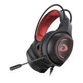Auriculares para juegos con cable Estéreo de graves profundos Auriculares con auriculares de sonido con Micrófono Para PC portátil de teléfono