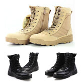 Men High Top Tactical Military Desert Army Boots Combat Hiking Shoes Outdoor