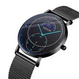 NEKTOMBusinessMoonstarDialWaterproofMen Quartzo Watch