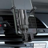 HOCO CA72 Mini Авто Держатель для телефона с автоблокировкой, гравитационная связь, вентиляционное отверстие, крепление для телефона, держатель