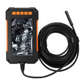 P40 الصناعية Borescope الة تصوير 1080P عالي الوضوح 4.3 بوصة LCD شاشة Borescope IP67 ضد للماء Borescope 8mm 8 LED أضواء 2600mAh البطارية