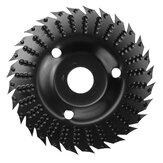 Disco abrasivo de pulido de ángulo de rueda abrasiva de 122 mm de diámetro redondo con perforación para carpintería herramienta