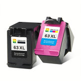 Tianran HP63XL Ink Cartridge HP2130 3630 4520 HP2131 Ink Cartridge Printer Black Color Office School Supplies