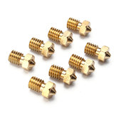Geekcreit® 8Pcs Four Sizes V6 Brass Nozzle For 1.75mm Filament Nozzle Extruder Print Head