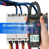 ANENG ST184 Dijital Multimetre Klemp Metre True RMS 6000 Sayımlar Profesyonel Ölçüm Test Cihazları AC / DC Gerilim AC Akım Ohm
