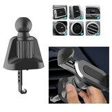 Bakeey Versão de Atualização Clipe Roda Universal 360 ° Rotação 17mm Car Air Vent Clip Bola Cabeça Suporte Suporte do telefone do carro Suporte