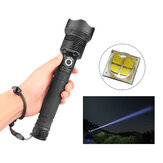 XANES® 1282 XHP70 LED 3 Mode USB Rechargeable Telescopic Zoom Senter LED 18650/26650