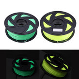Fluorescence Yellow/Fluorescence Green 1.75mm 1KG/Roll PLA Filament for 3D Printer
