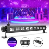 27W 385NM UV Auto cambia colore LED Stage Light per Bar Disco Party Club Natale