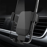 Licheers Gravity Linkage Auto Lock 360 Degree Rotation Car Outlet Holder Mount for Samsung Xiaomi Mobile Phone