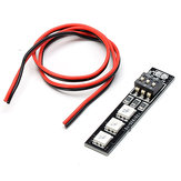 Diatone RGB LED Junta 12V 3S RGB5050 7 colores para RC Drone FPV Racing Multi Rotor