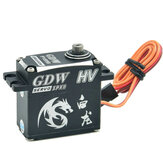GDW IPX893 36KG IPX8 Waterproof Brushless Metal Gear Digital Coreless Servo for RC Crawler Truck