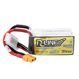 TATTU R-LINE Version 1.0 14.8V 1800mAh 95C 4S Lipo Battery for RC Quadcopter FPV Racing Drone