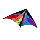 NOUVEAU 5.2ft Delta Triangle Kite En Plein Air Fun Sport Jouets Single Line