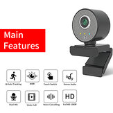 Original              HD 1080P Webcam WDR Al AutoTracking Camera Video Conference USB Cams with Microphone