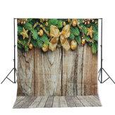 5x7ft Kerstboom Kleine Bel Fotografieachtergrond Studio Prop Achtergrond