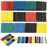 530Pcs Heat Shrink Tubing Insulation Shrinkable Tubes Assortment Electronic Polyolefin Wire Cable Sleeve Kit Heat Shrink