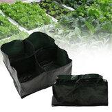 Jardim Pendurado Crescer Sacos Recipiente Plantador com Alças Plantio de Vasos para Vegetais Internos Ao Ar Livre