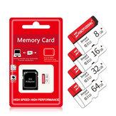 ذاكرة MicroDrive بطاقة TF Micro SD بطاقة عالية السرعة Class10 8 جيجابايت 16GB 32GB 64GB 128 جيجابايت 256 جيجابايت مع SD محول للجوال هاتف لوحدة تحكم ألعاب PSP MP3 الة تصو