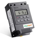 220V 110V 12V 30AMP TM616 Carga de control 7 días Programmable Digital TIME SWITCH Relay Timer Control