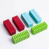 6Pcs Fizz Tearable Colorful Radiergummi Interessant Tragbar für Kinder Schule Schreibwaren von Xiaomi YouPin