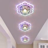 3W Modern Crystal LED Ceiling Light Fixture Pendant Lighting Chandelier Lamp