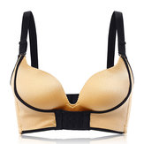 Sexy Wireless Front Closure Gather ajustable Bras Mujer