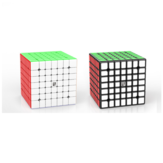 Yongjun Yufu 7x7x7 Magnetic Edition Magic Cube ألعاب تعليمية داخلية