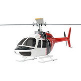 FLY WING Bell 206 Class 450 6CH Brushless Motor GPS Fixed Point Altitude Hold Scale RC Helicopter PNP