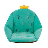 Almofada de cadeira de assento semi-fechada Cintura Almofada lombar Escritório de apoio à cintura