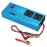 Car Power Inverter DC 12V/24V to AC 220V Voltage Converter USB Charger Auto Inversor