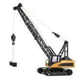 Huina 1572 1/14 2.4G Alloy RC Car Truck Excavator Construction Digger Wireless Remote Control Bulldozer Indoor Outdoor Toy For Kids