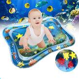 66x50 سنتيمتر نفخ الطفل اللعب المياه حصيرة الرضع السباحة فراش الهواء الصغار متعة البطن وقت نشاط أدوات