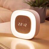 Smart X901 Chambre Veilleuse Réveil Capteur Tactile LED Numérique Snooze Horloge Lampe de Réveil De Xiaomi Youpin