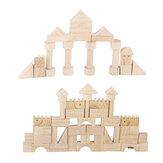 162pcs blocs en bois éducatif enfant jouer apprendre Classic puzzle jouet