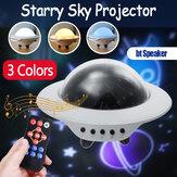 Звездная ночь Лампа Вращающаяся звезда настольный свет Проектор Bluetooth Дистанционное Управление