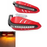 Motorcycle Protective DRL LED Indicator Light Brush Hand Guards