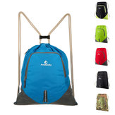 ANMEILU 12L Foldable Drawstring Backpack Ultralight Outdoor Travel Waterproof Folding School Bag Men Women