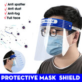 10 pièces masque de protection nouvel ajustement extensible masque de protection HD PET masque de protection anti-buée