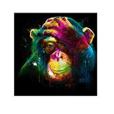 Chimpanzé 5D DIY Diamant Peinture Broderie Point De Croix Home Wall Decor Art Décorations