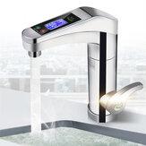 220V LED água instantânea elétrica Aquecedor casa de torneira Banheiro torneira misturadora de cozinha