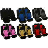 9 Pcs/Set Car Seat Cushion Headrest Cover Protective Front&Rear Universal
