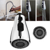 2 Function Pull Out Spray Head Bathroom Faucet Replacement Sink Basin Shower Head
