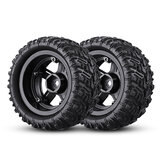 Remo P6973 Rubber RC Car Tires For 1621 1625 1631 1635 1651 1655 RC Vehicle Models