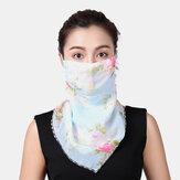 Transpirable Verano de secado rápido al aire libre Montar Impresión Cuello Protector Protector solar Bufanda Anti-UV Bandana