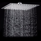 10 Inch 25*25cm Square Top Spray Shower High Pressure 304 Stainless Steel Shower Head