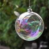 Decoração para casa de Natal de 6CM Decoração para casa Ornamento de bola de pérolas Ornamento de Baubles para crianças Presente infantil