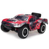 Remo Hobby 10EX3 RTR 1/10 2.4G 4WD 40km / h Fırçasız RC Araba Araçlar Modeli Kısa Kurs Canavar Kamyon
