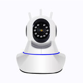 1080P WiFi Wireless / Przewodowa kamera IP Home Security Surveillance Camera Pan & Tilt Night Vision